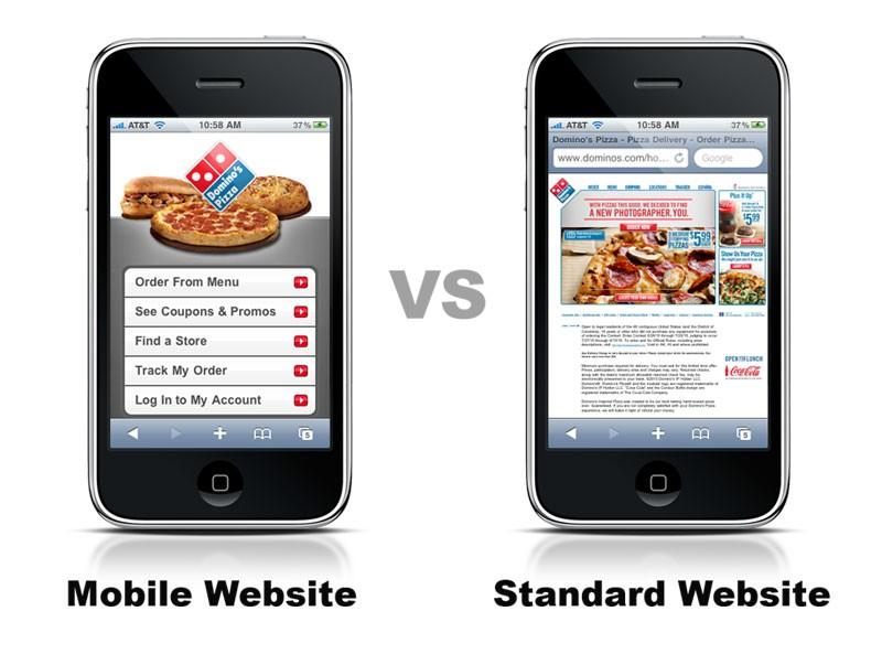 dominos_mobile-vs-standard